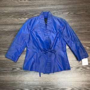 NWT Doncaster Silk Jacket Size 2